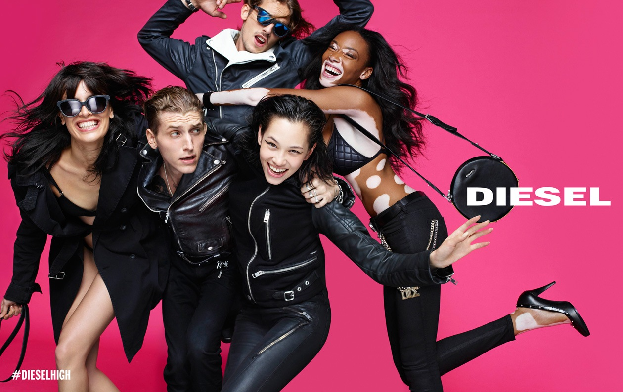 DIESEL SS15 AD DPS 02 LEATHER