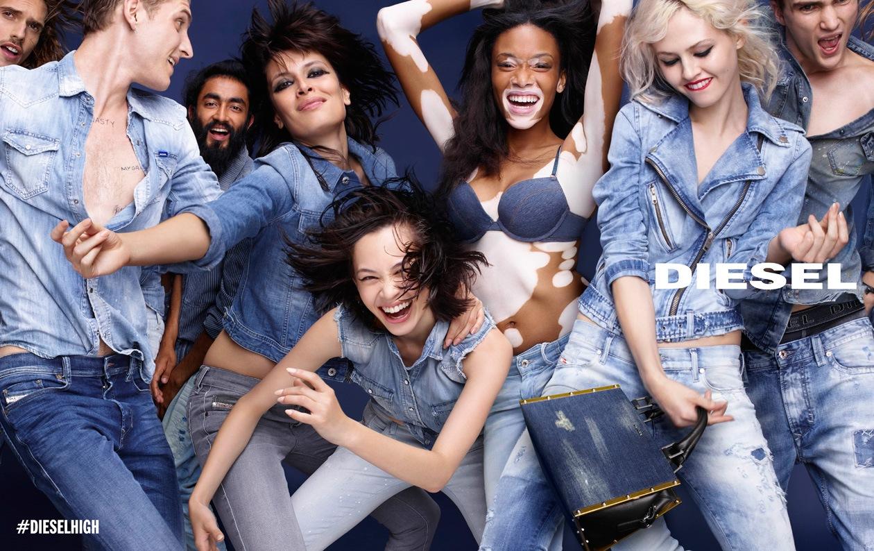 DIESEL SS15 AD DPS 05 BLUE DENIM