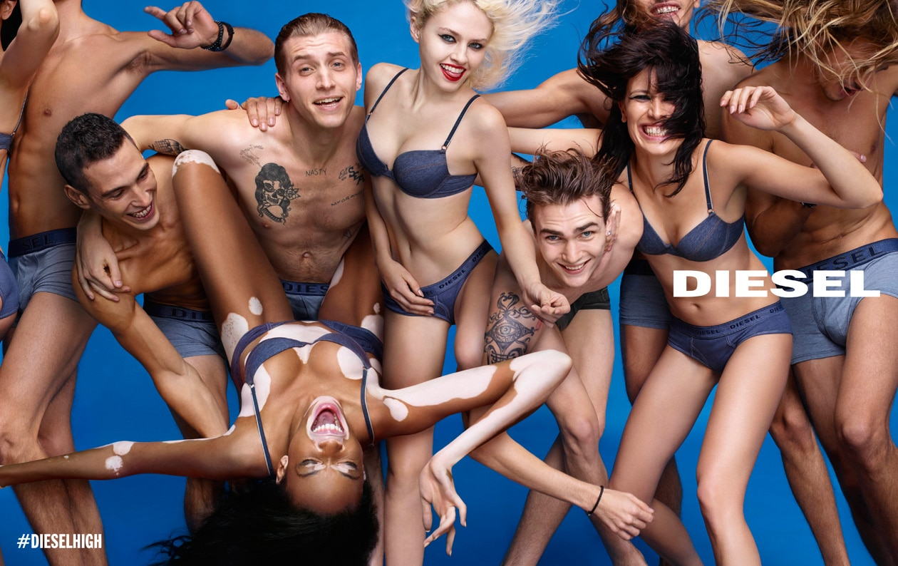 DIESEL SS15 AD DPS 07 INTIMATES