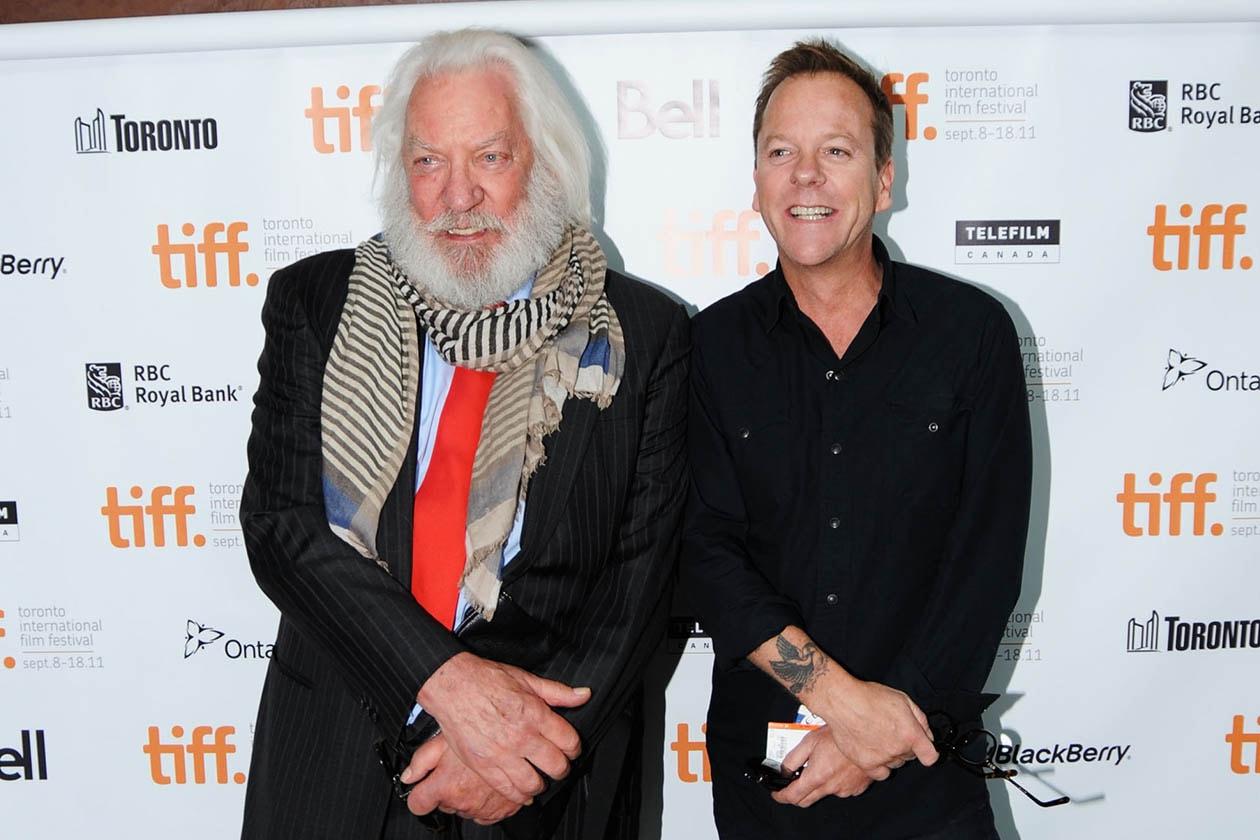 Donald e Kiefer Sutherland