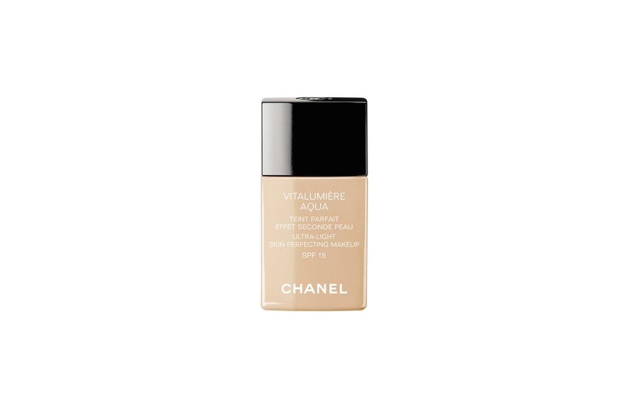 Fondotinta leggero: Chanel Vitalumière Aqua