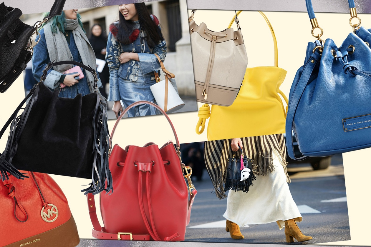 Full time bucket bags