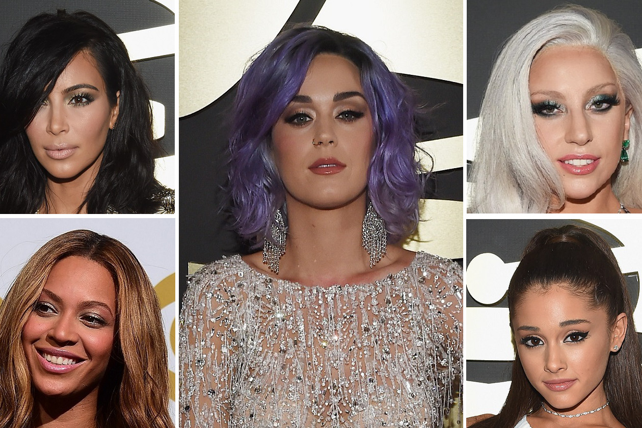 GRAMMY BEAUTY LOOK 2015