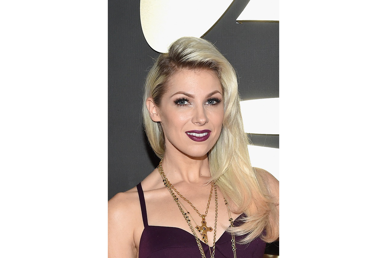 GRAMMY BEAUTY LOOK: Bonnie McKee