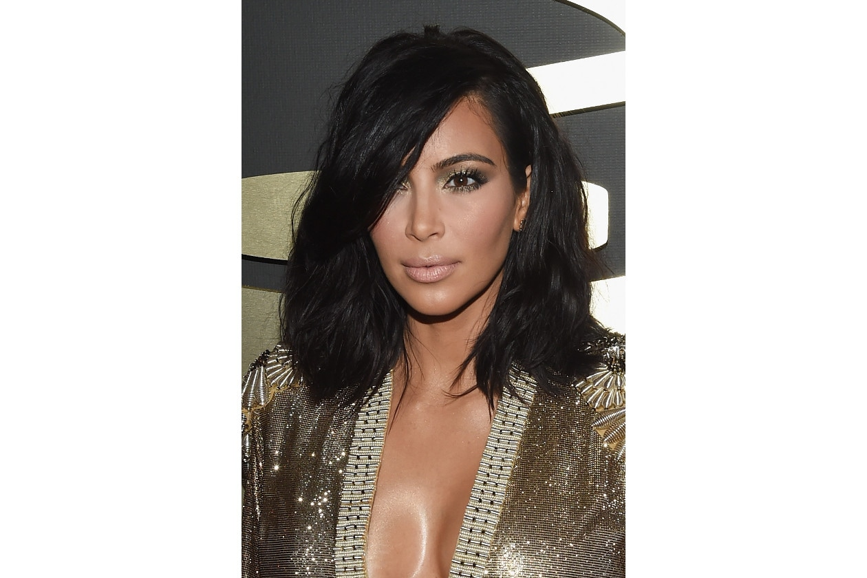 GRAMMY BEAUTY LOOK: Kim Kardashian
