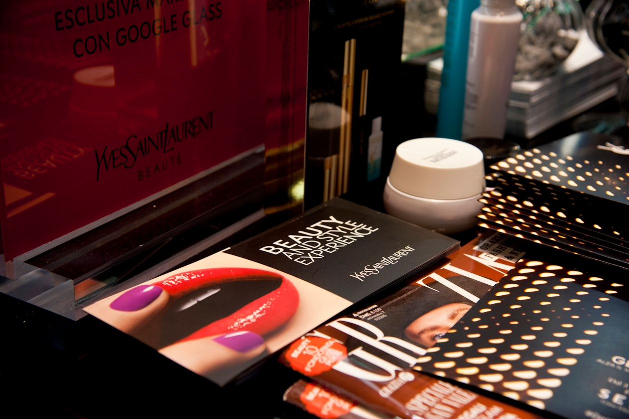 #GetOnStageYSLBeauty: appuntamento presso il beauty store Sephora