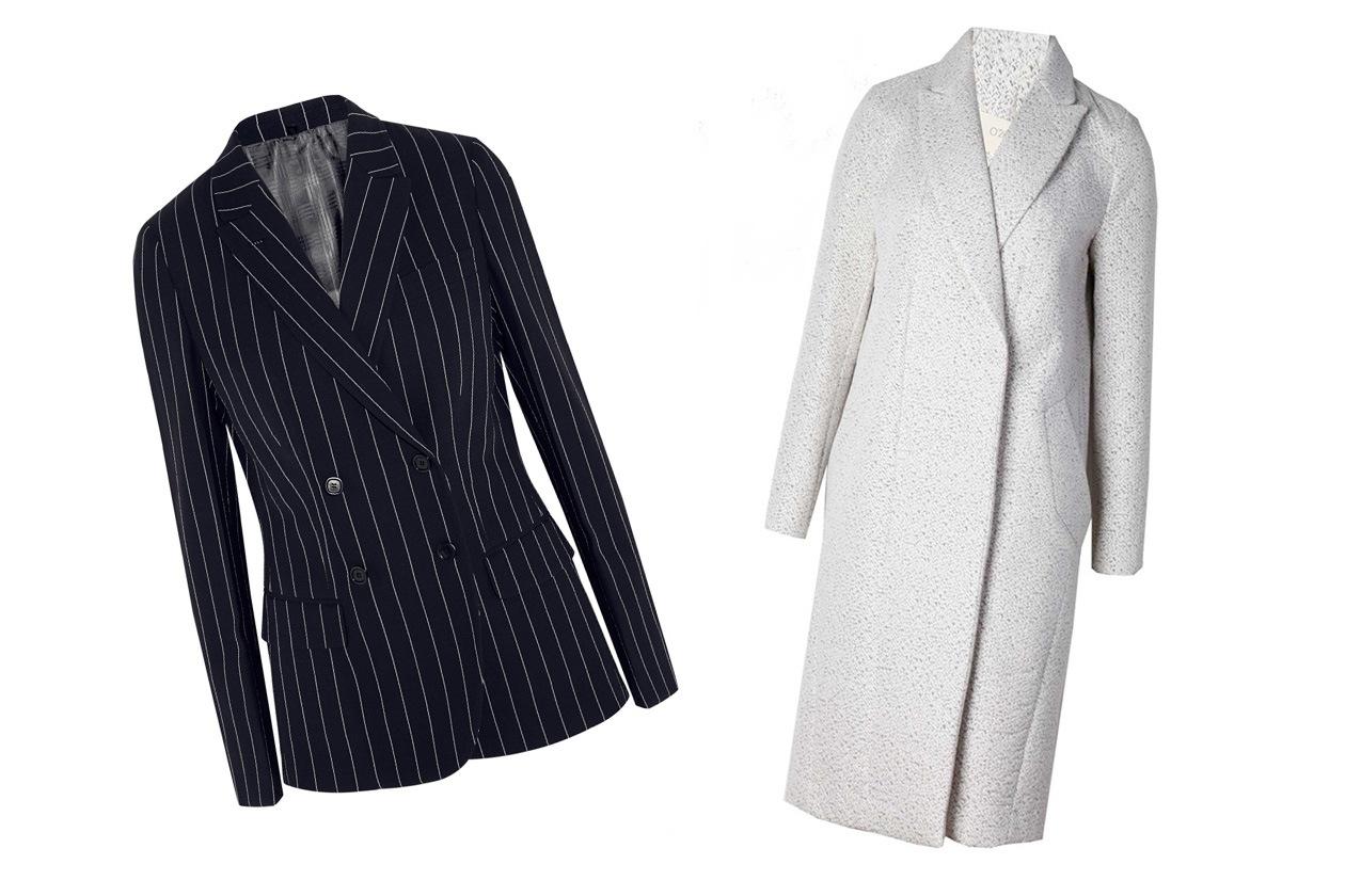 Giacca doppiopetto e cappotto lungo