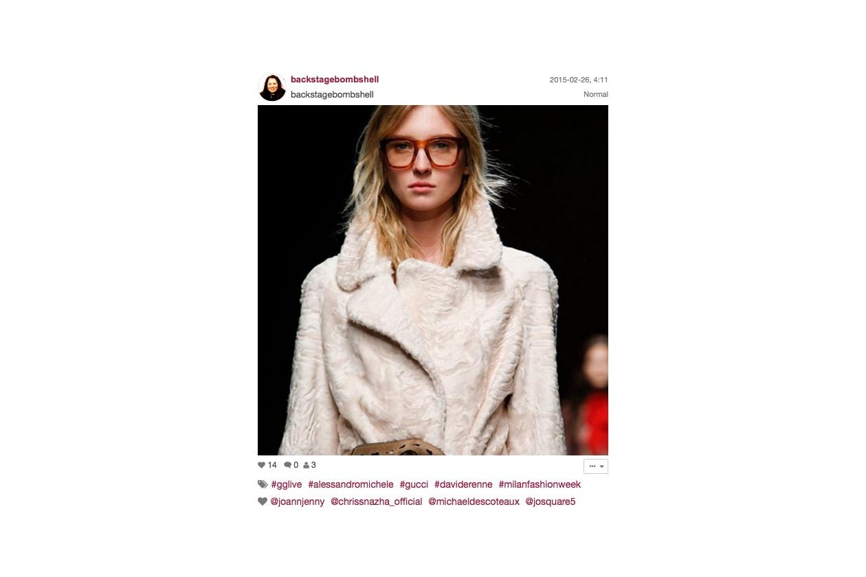 Gucci Autunno/Inverno 2015-16: acconciature fluenti