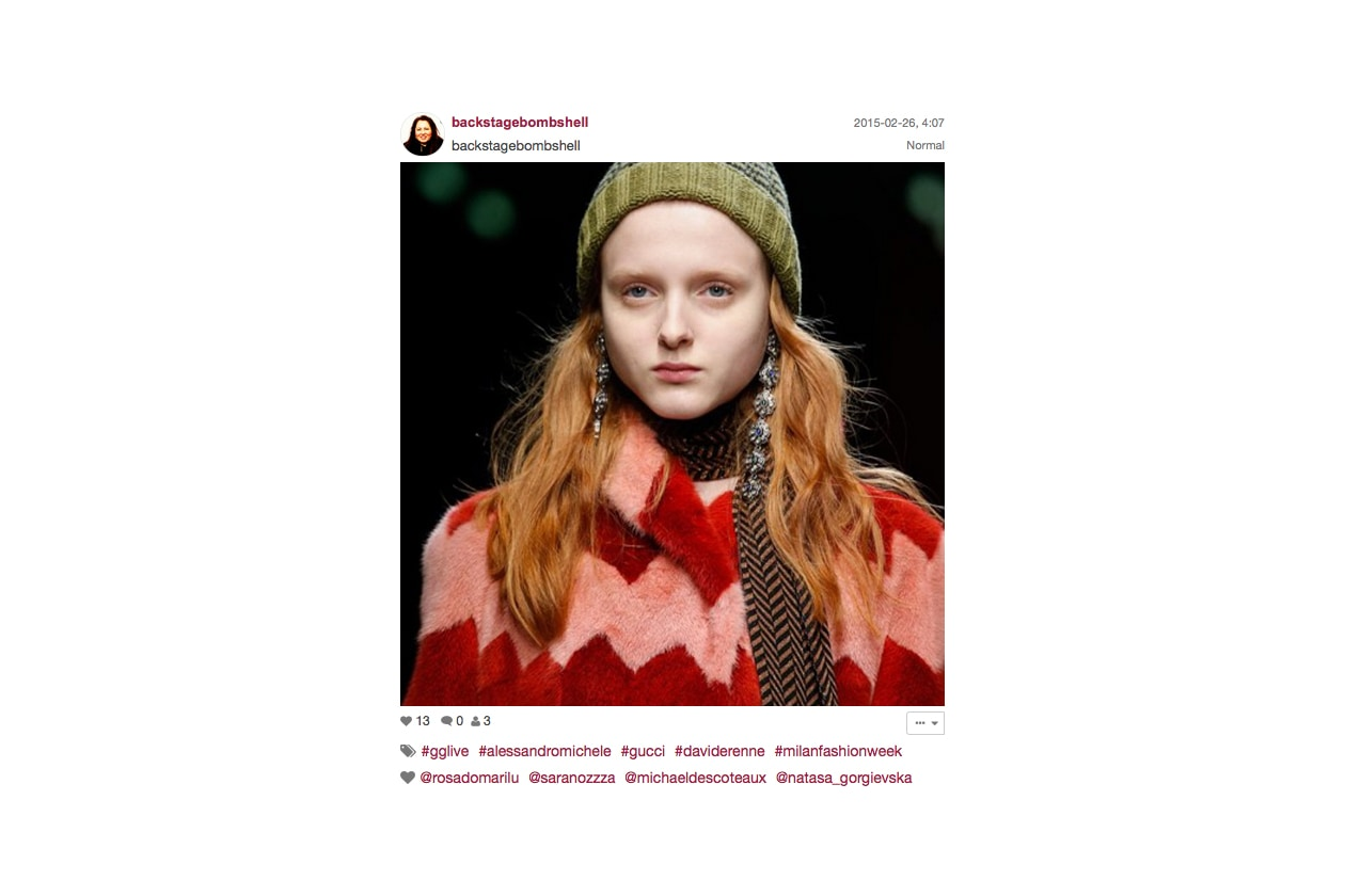 Gucci Autunno/Inverno 2015-16: beauty look basic