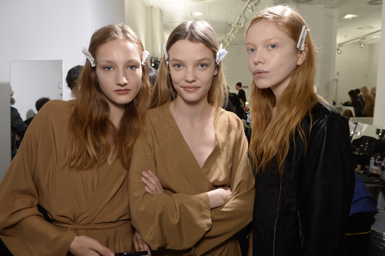 Gucci Autunno/Inverno 2015-16: il backstage make up & hair