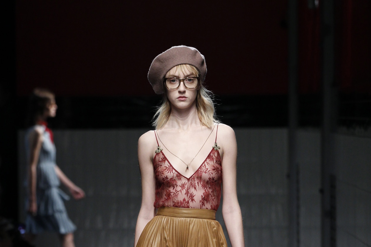 Gucci Autunno/Inverno 2015-16: modern beauty look
