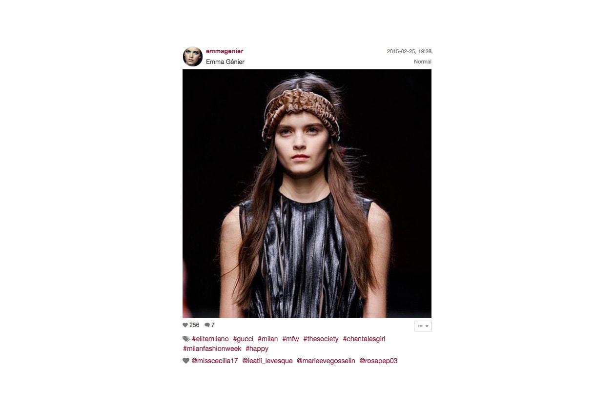 Gucci Autunno/Inverno 2015-16: mosso delicato