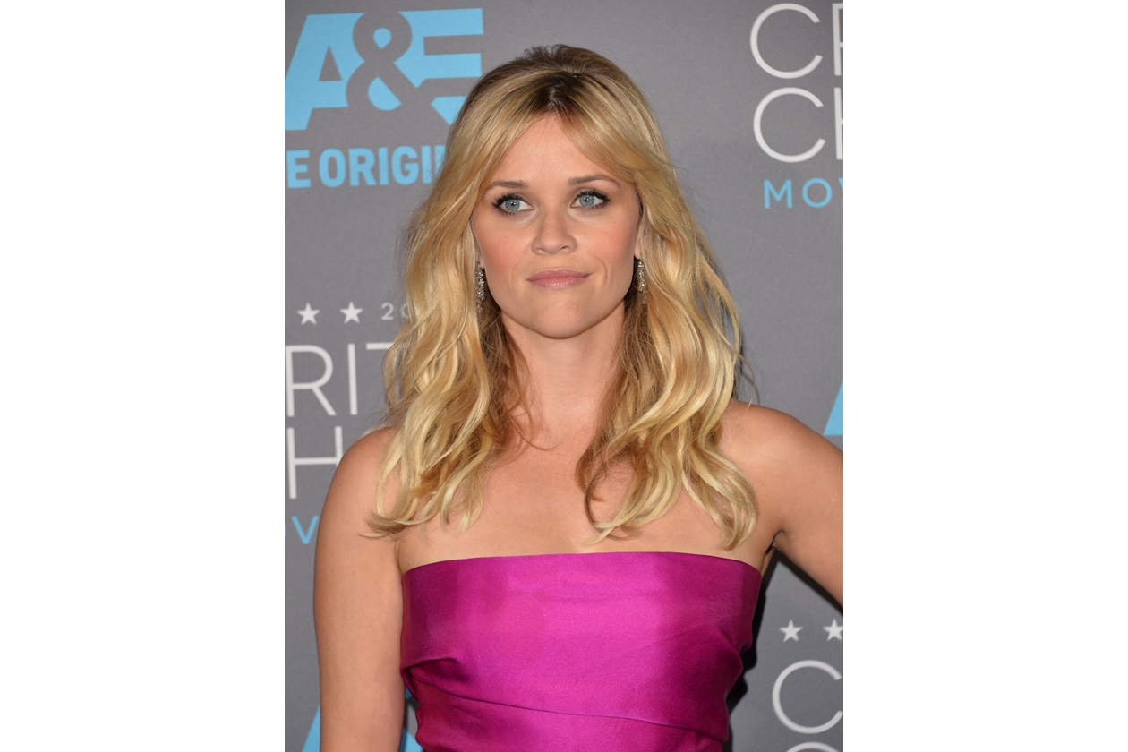 I capelli lunghi e mossi delle star: Reese Witherspoon