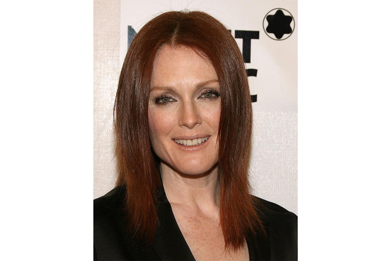 Il difetto del liscio? Nasconde i lineamenti dell'attrice e non mette in evidenza la sua pelle perfetta (2008)