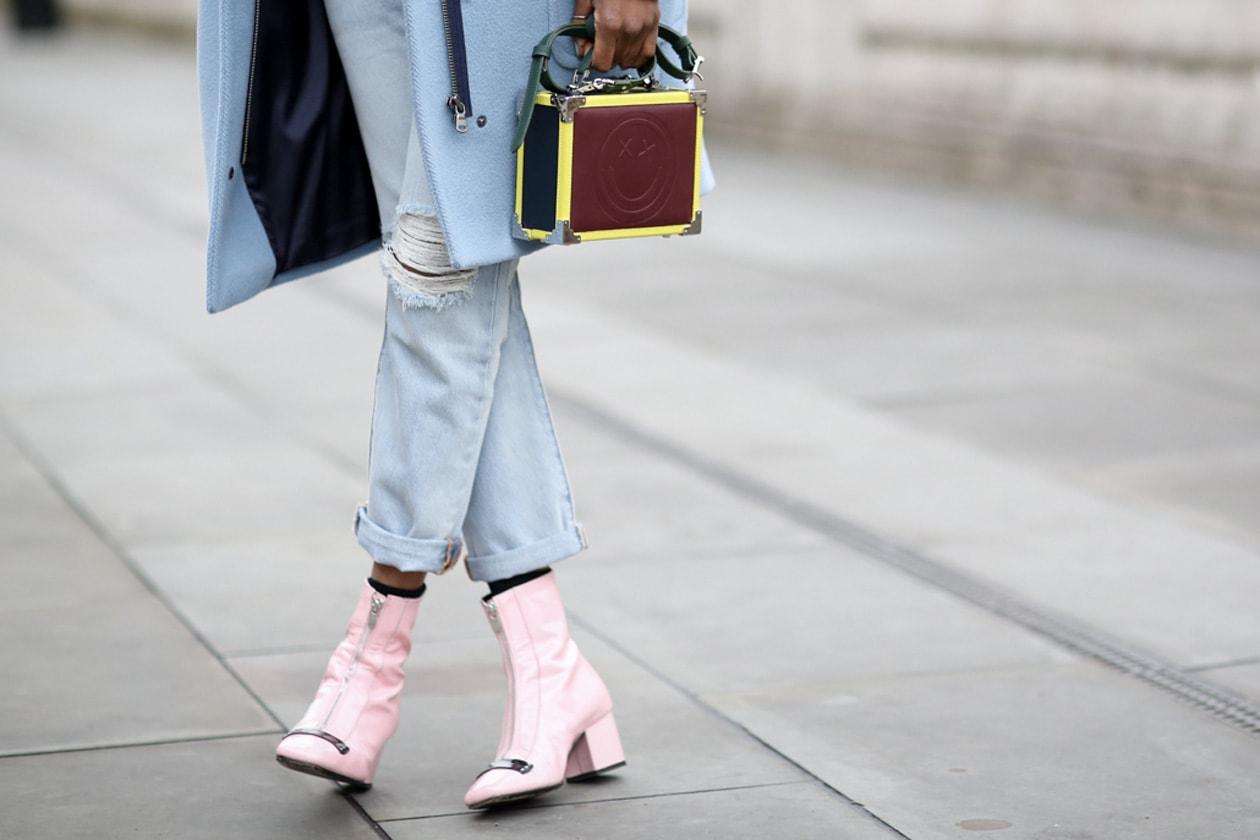 """#LFW trends: le scarpe sono """"sugar pink"""""""