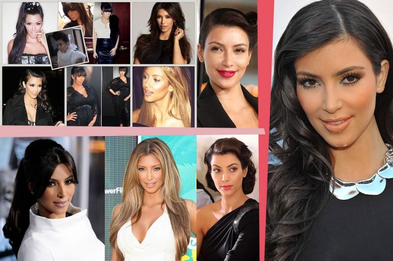 Lisci o morbidi, raccolti o lunghi: gli hair look più belli e stravaganti di Kim Kardashian