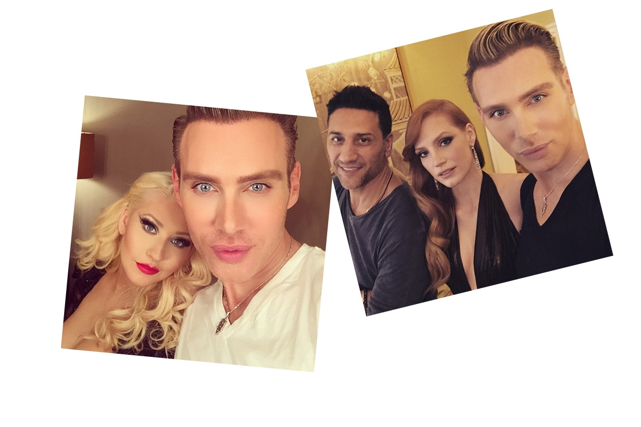 Make up artist su Instagram: Kristofer Buckle
