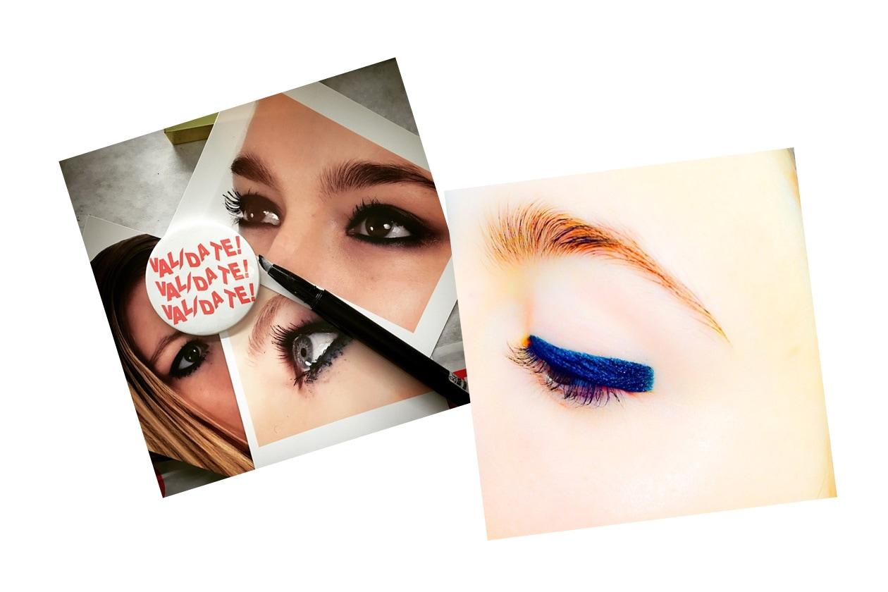 Make up artist su Instagram: Val Garland