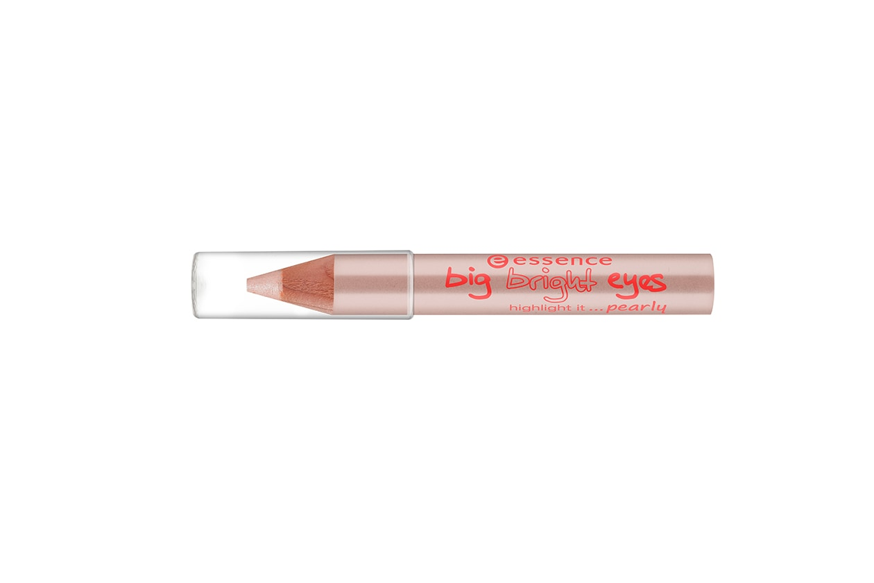 Matita occhi bianca e color burro: Essence Big Bright Eyes Highlight it Pearly