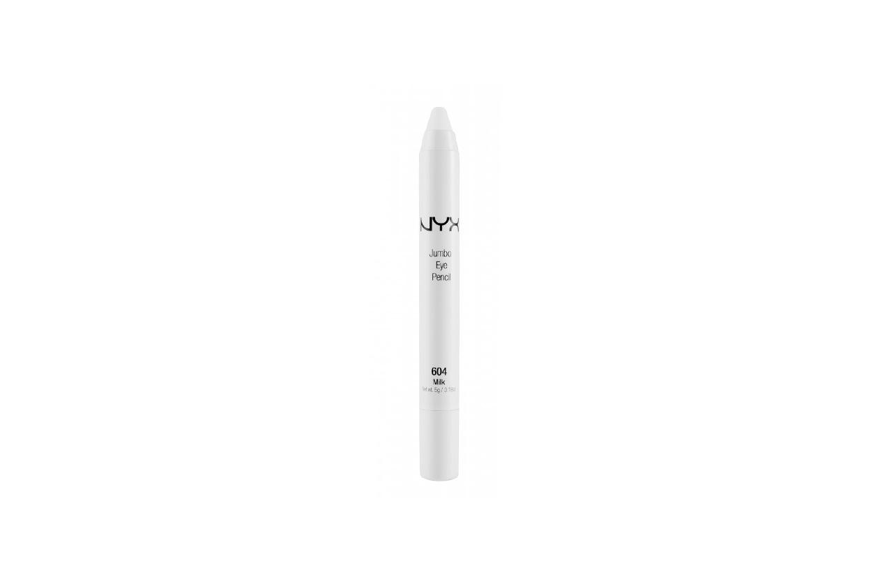 Matita occhi bianca e color burro: NYX Jumbo Eye Pencil Milk