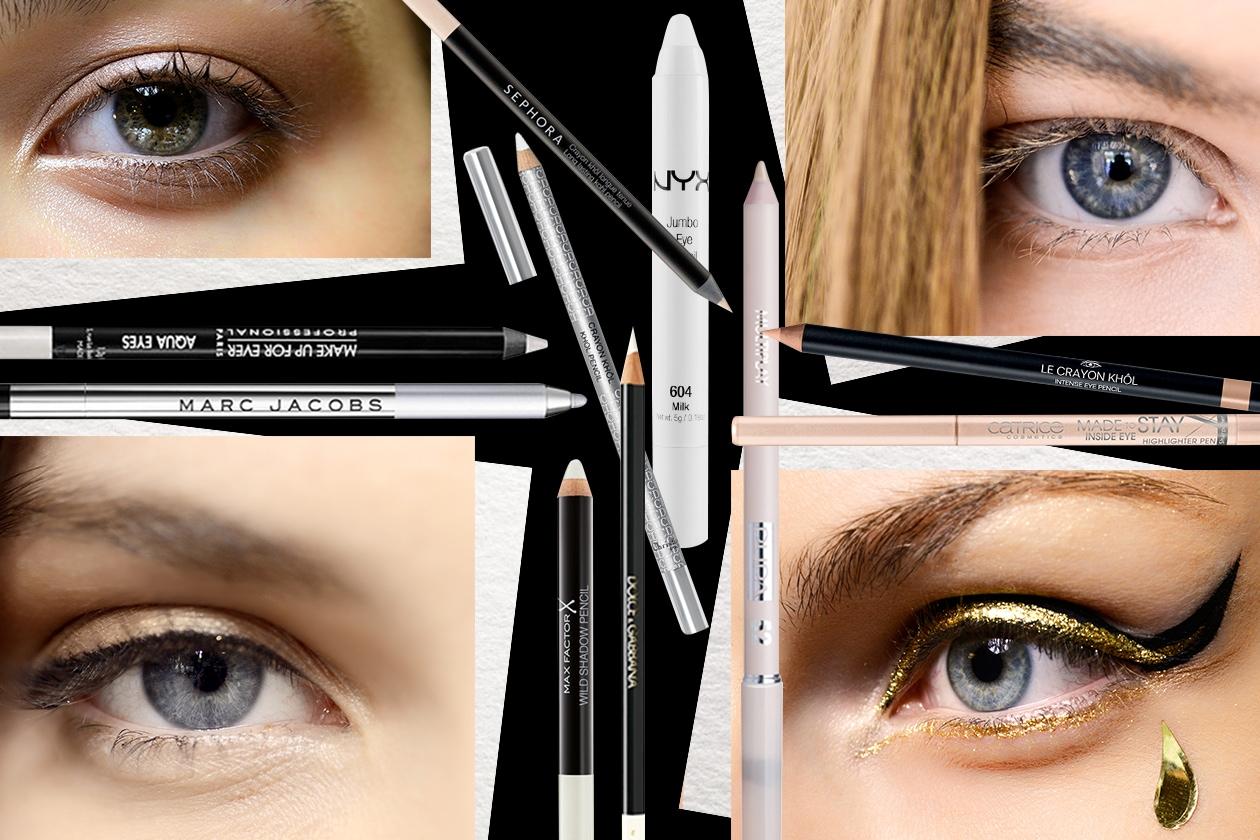 Matita occhi bianca e color burro: quale scegliere per un nude look