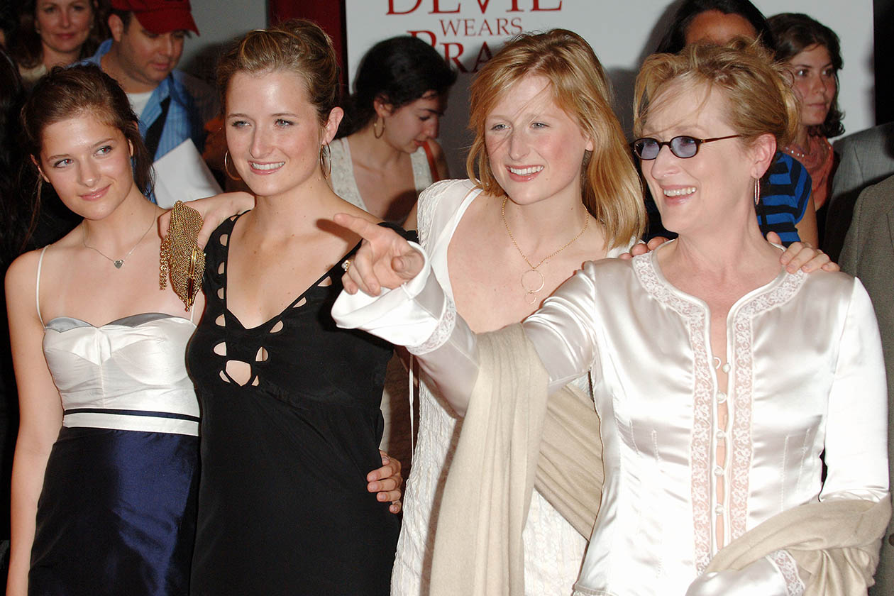 Meryl Streep e tutte le figlie