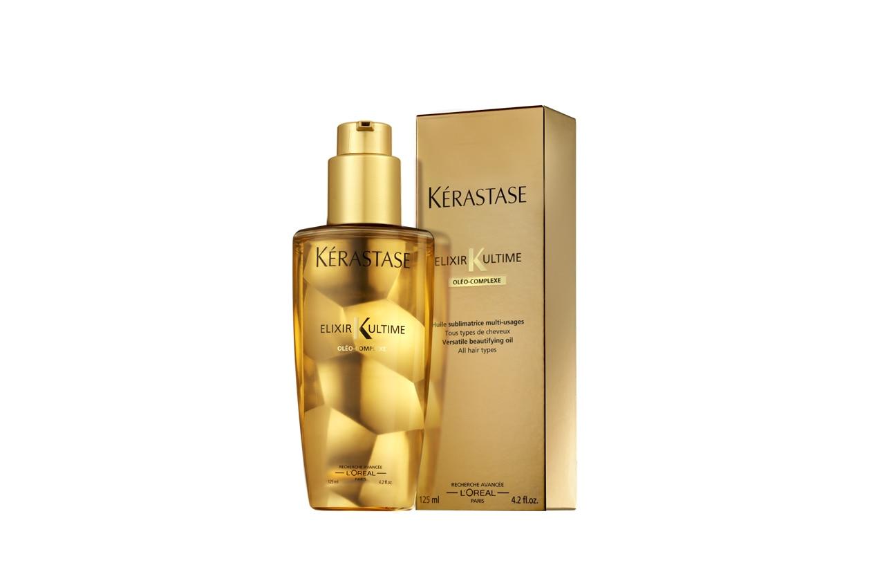 Olio impacco pre-shampoo capelli secchi: Kérastase Elixir Ultime