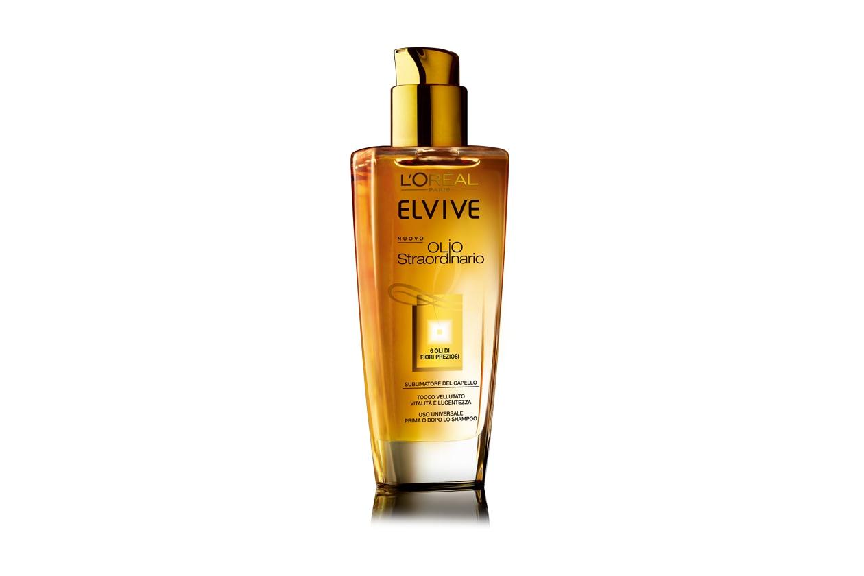 Olio impacco pre-shampoo capelli secchi: L'Oréal Paris Elvive Olio Straordinario