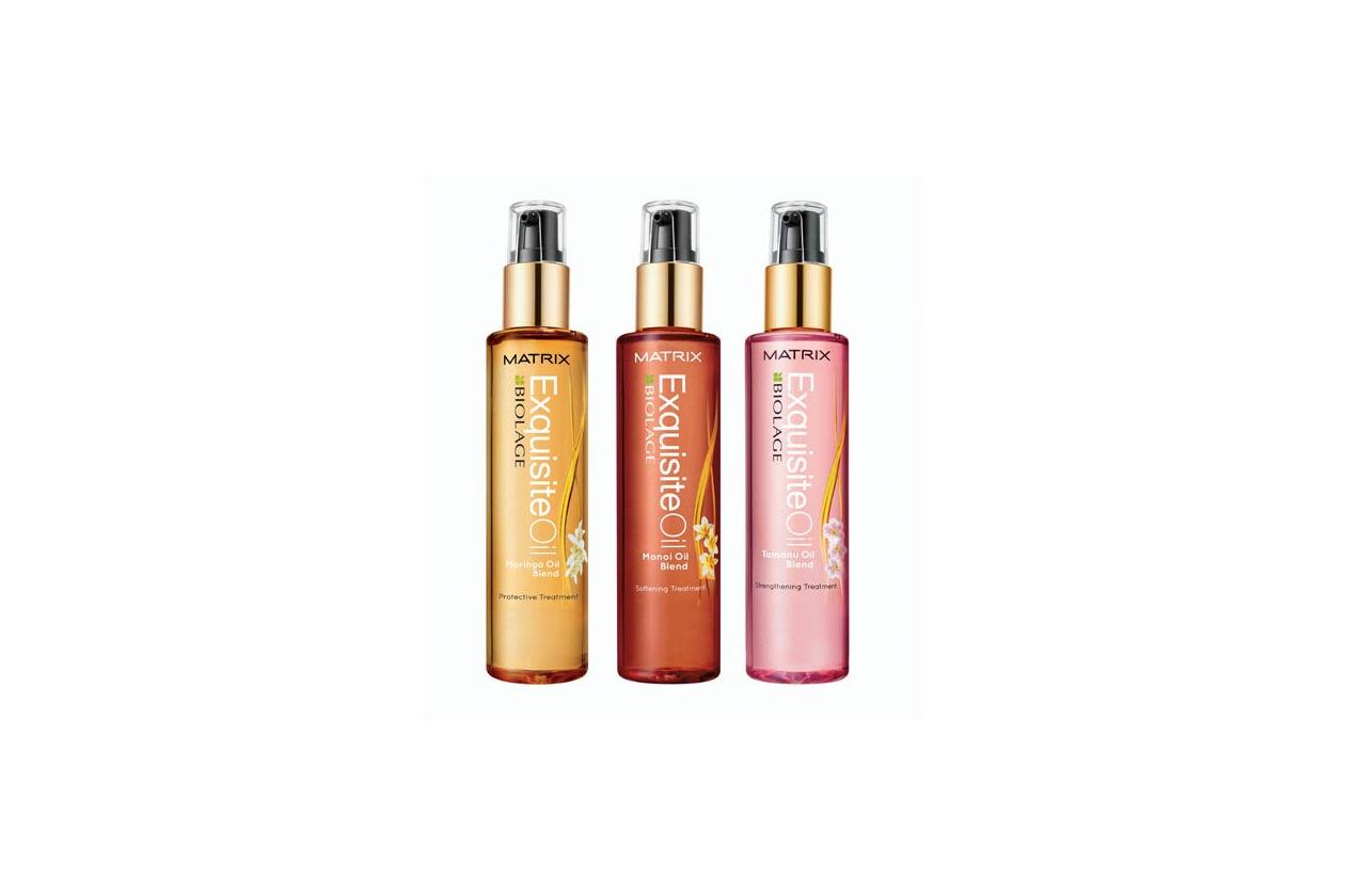 Olio impacco pre-shampoo capelli secchi: Matrix Exquisite Oil