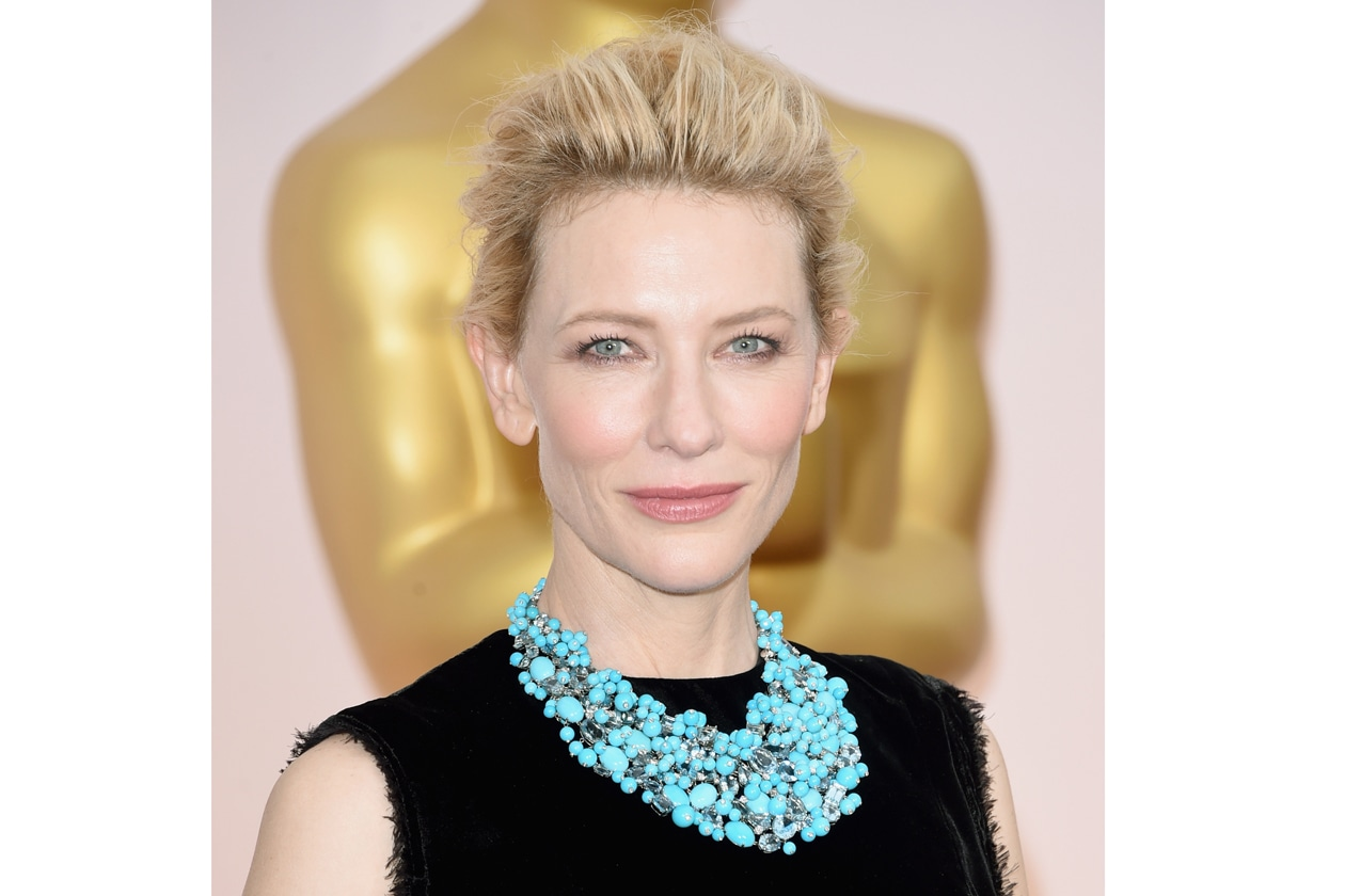 Oscar 2015 Miglior beauty look bonne mine: Cate Blanchett