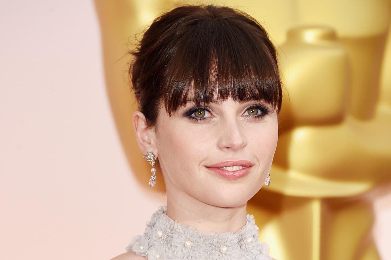 Oscar 2015 Miglior eyeliner: Felicity Jones