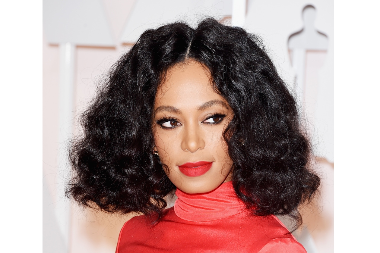 Oscar 2015 Miglior rossetto flashy: Solange Knowles