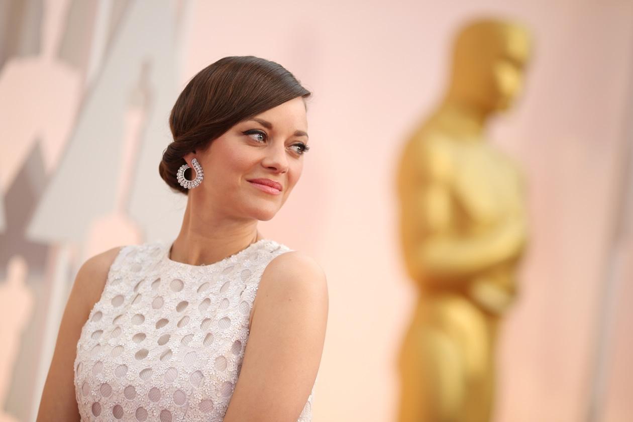 Oscar 2015 Migliori rosy lips: Marion Cotillard