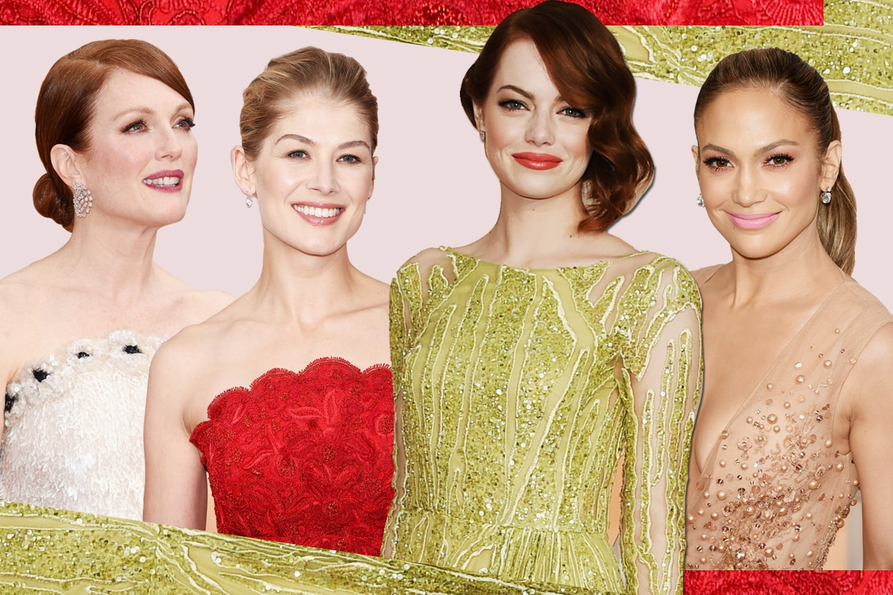 Oscar 2015: i beauty look più belli sul red carpet