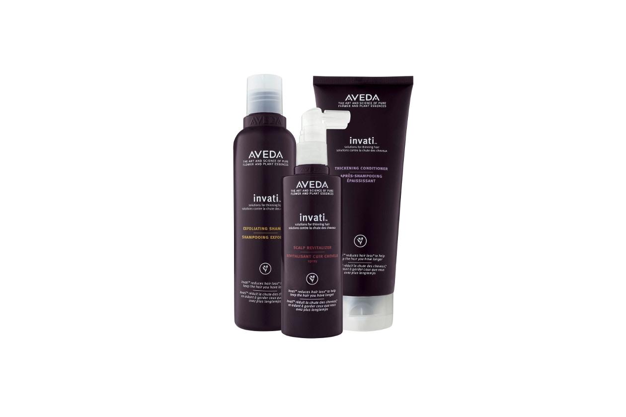 Prodotti per capelli fini e sfibrati: Aveda Invati