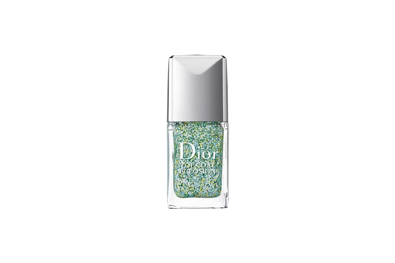 SMALTI VERDE ACQUA: Dior Top Coat Eclosion Blossoming 001