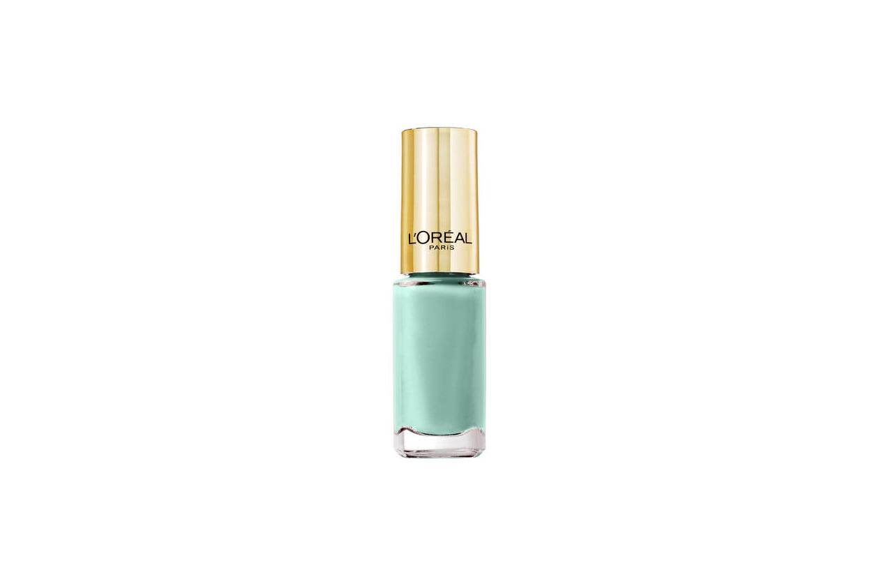 SMALTI VERDE ACQUA: L'Oréal Paris Color Riche 602 Perle de Jade