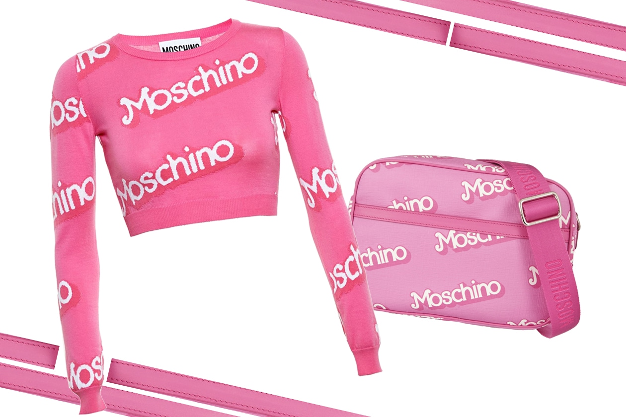 SWEATER & BAG MOSCHINO