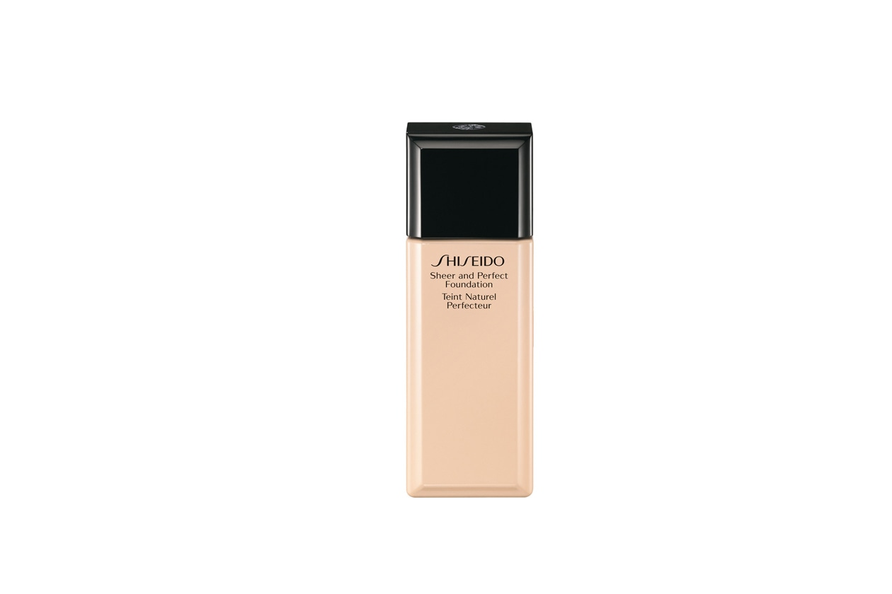 Sheer and Perfect Foundation I20 Natural Light Ivory di Shiseido