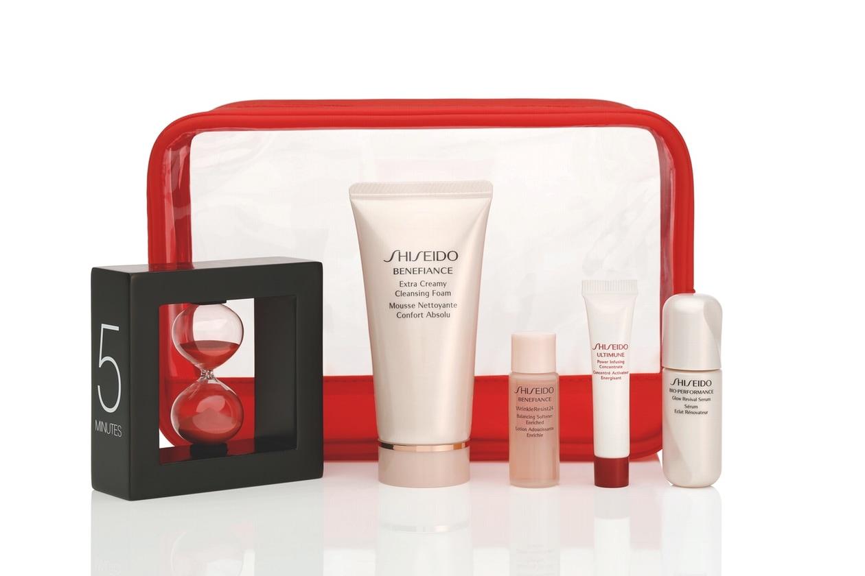 Shiseido Time 4 Beauty: il kit per la corretta routine di bellezza