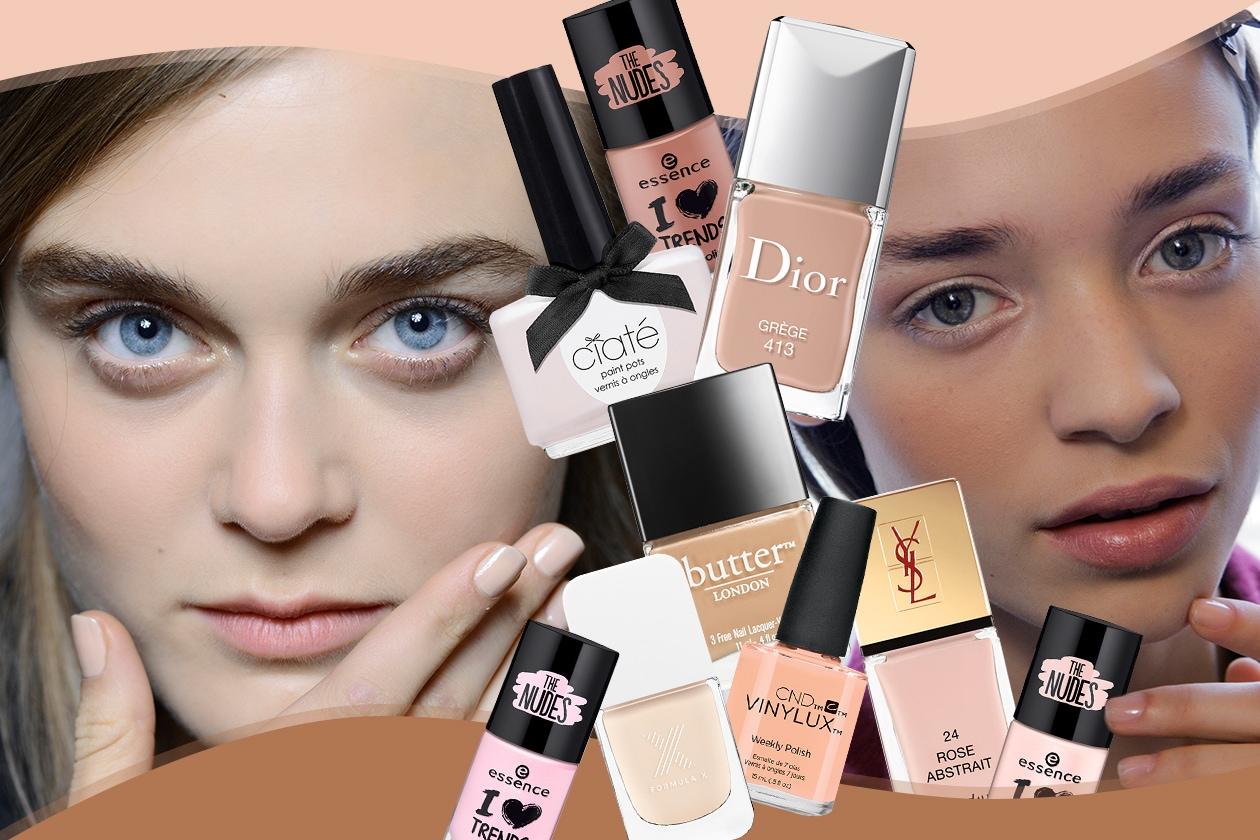 Smalti nude: le manicure dalle sfilate e le nuance da provare