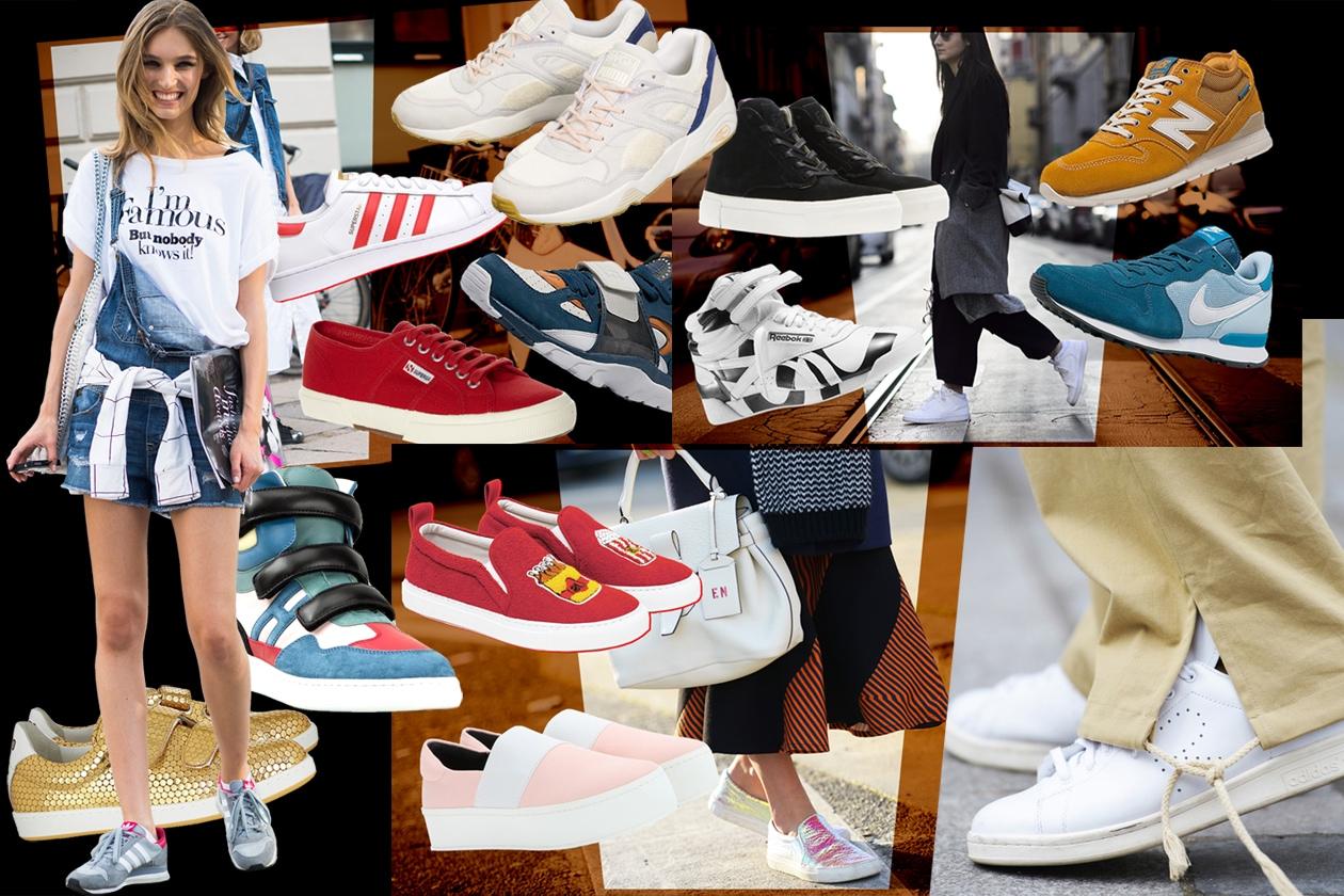 Sneakers per la primavera