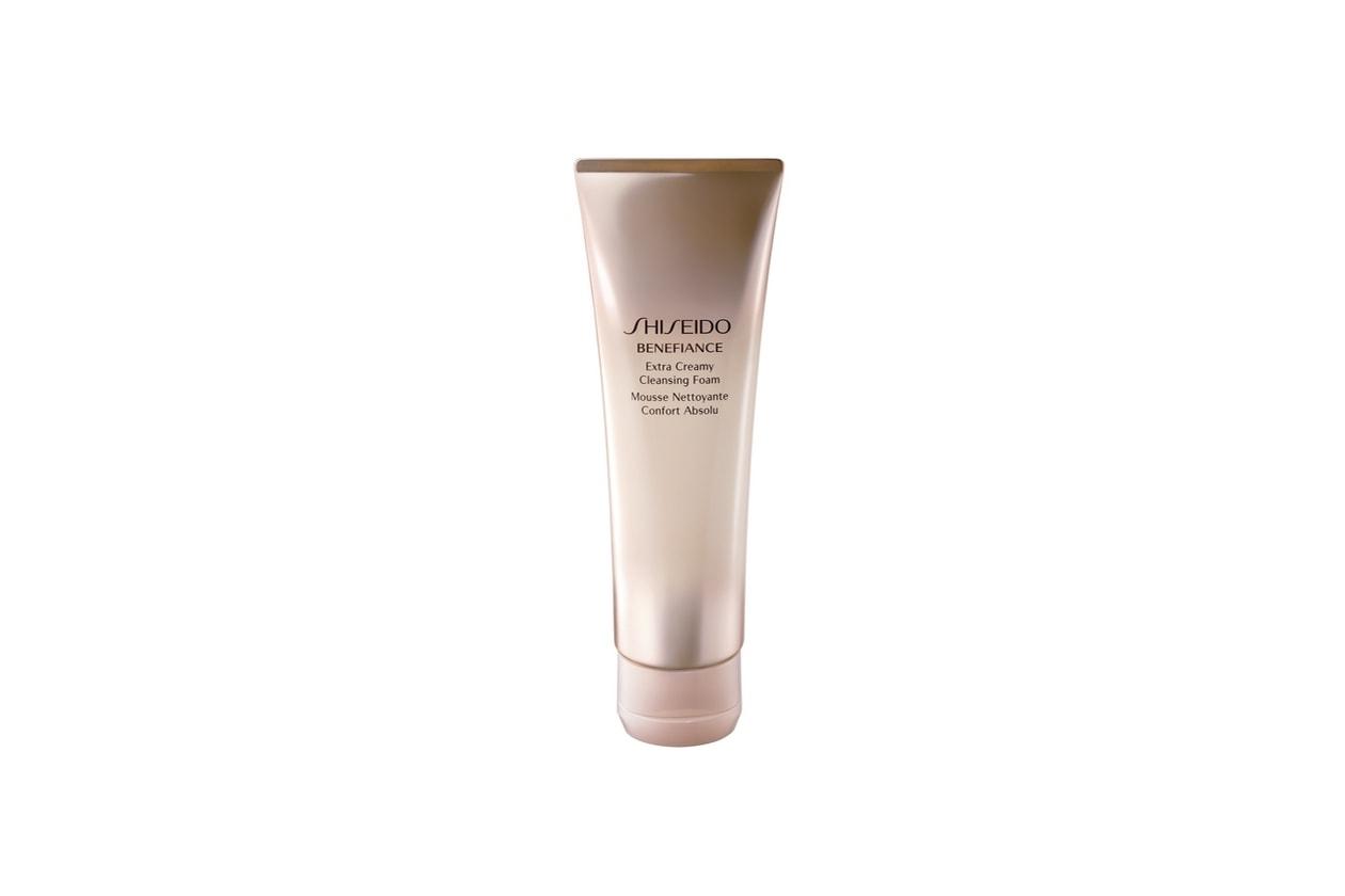 Step 1 – Preparare: Shiseido Extra Creamy Cleansing Foam