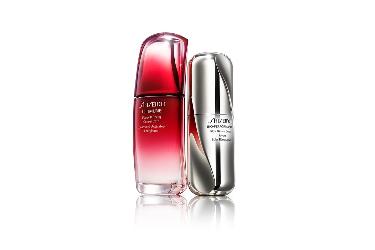 Step 2 e 3 – Attivare e Correggere: Shiseido Ultimune e Bio-Performance Serum