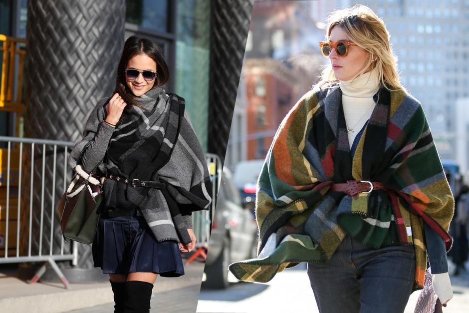 Street style trend: la mantella