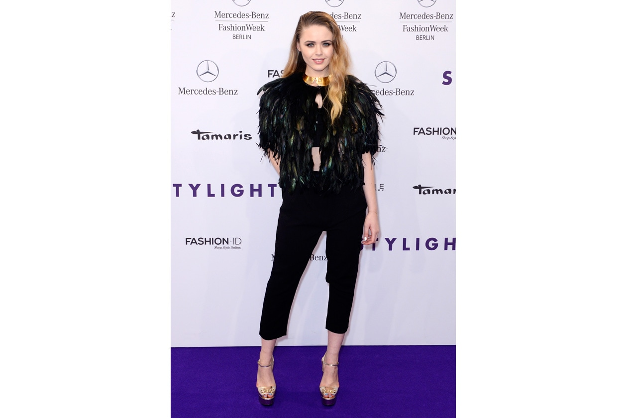 Stylight Fashion Blogger Awards at Brandenburg Gate on January 13, 2014 in Berlin