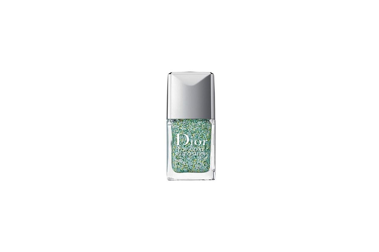 Top coat glitter, flakes e confetti: Dior Top Coat Eclosion