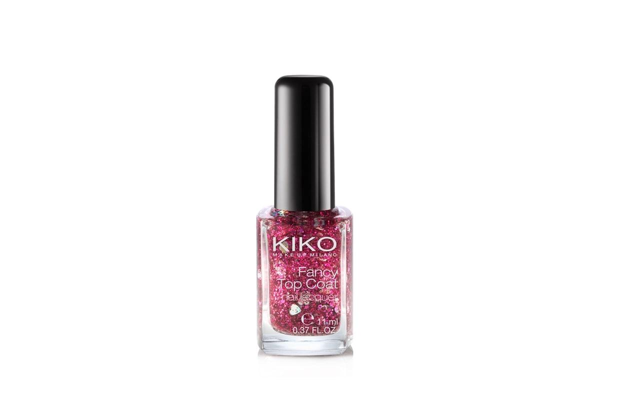 Top coat glitter, flakes e confetti: Kiko Fancy Top Coat