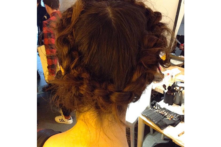 Trend capelli AI 15-16 dalla LFW: braids