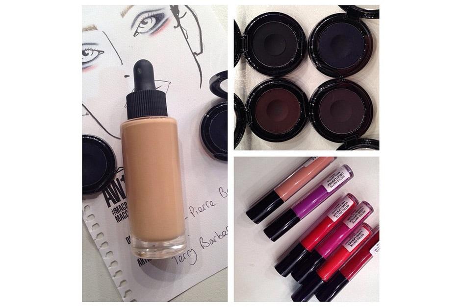 Trend make up AI 15-16 dalla LFW: MAC Cosmetics per Jean Pierre Braganza